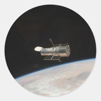 NASA Hubble Space telescope Classic Round Sticker