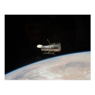 NASA Hubble Space telescope Postcard