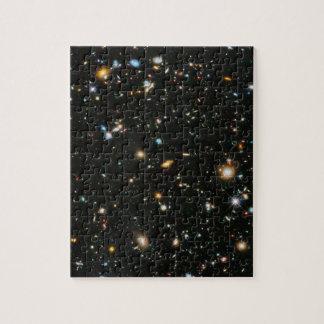 NASA Hubble Ultra Deep Field Galaxies Puzzles