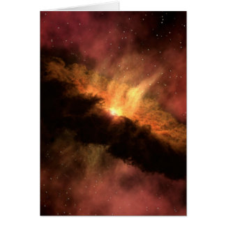 NASA Infrared Planet Forming Disk Card