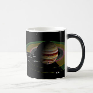 NASA Jupiter Rings Mosaic Morphing Mug