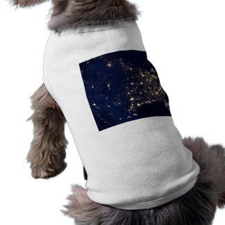 Nasa Lights from Space USA Shirt