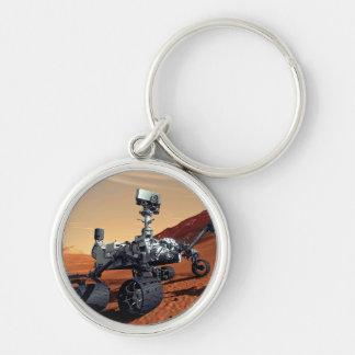 NASA Mars Curiosity Rover Artist Concept Key Ring