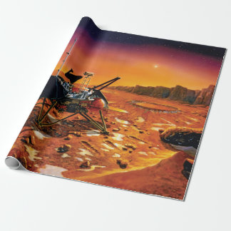 NASA Mars Polar Lander Artist Concept Artwork Wrapping Paper