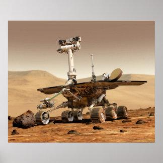 NASA Mars Rover Poster