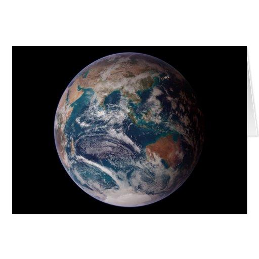 NASA Planet Earth Indian Ocean View Cards