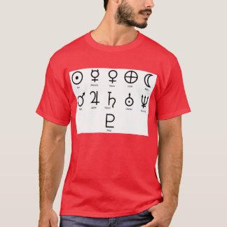 NASA Planet Symbols T-Shirt