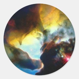 Nasa Round Sticker