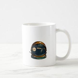 nasa satellite and the moon coffee mug