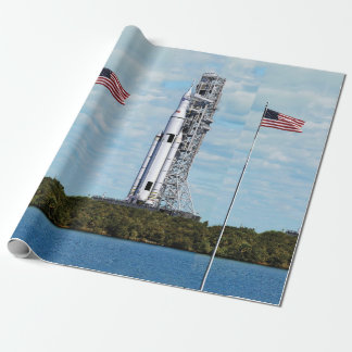 NASA SLS Space Launch System Rocket Launchpad