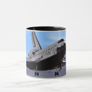 NASA Space Shuttle Atlantis Landing Edwards AFB Mug