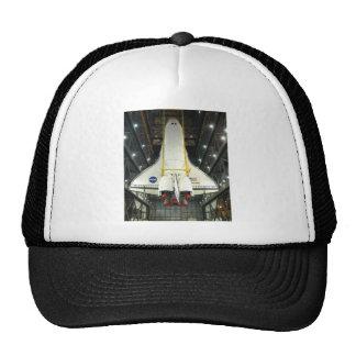 NASA SPACE SHUTTLE ATLANTIS PROGRAM COMMEMORATIVE TRUCKER HAT