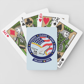 NASA space shuttle playing cards