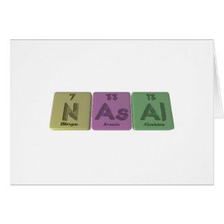 Nasal-N-As-Al-Nitrogen-Arsenic-Aluminium png Cards