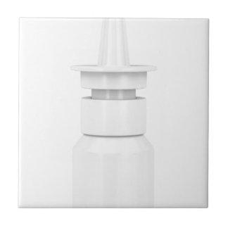 Nasal spray ceramic tile