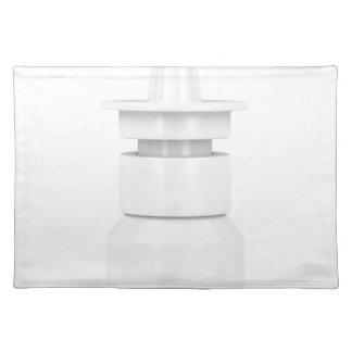 Nasal spray placemat