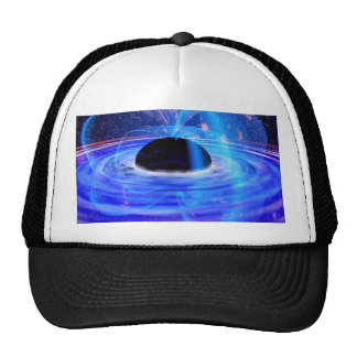 Nasa's Blue Black Hole Cap