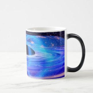 Nasa's Blue Black Hole Morphing Mug