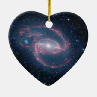 NASAs Coiled Creature of the Night Ceramic Heart Decoration