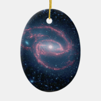 NASAs Coiled Creature of the Night Ceramic Oval Decoration