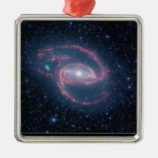 NASAs Coiled Creature of the Night Silver-Colored Square Decoration