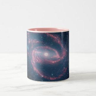 NASAs Coiled Creature of the Night Two-Tone Mug