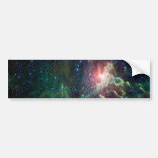 NASAs Flaming star Bumper Sticker