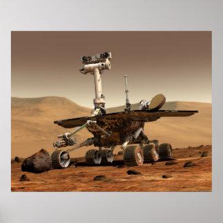 NASA's Mars Rover 'Spirit' Poster