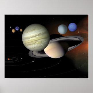 NASAs Our Solar System Poster