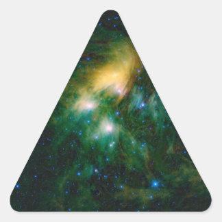 NASAs Pleiades Triangle Sticker
