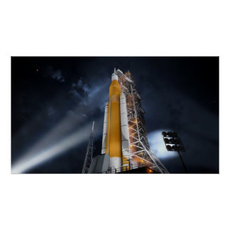 NASA's Space Launch System Poster