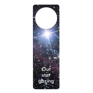NASAs Veil Nebula Door Knob Hangers
