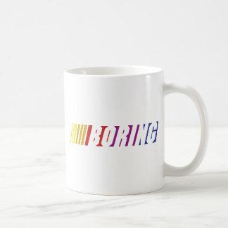 Nascar Boring Basic White Mug