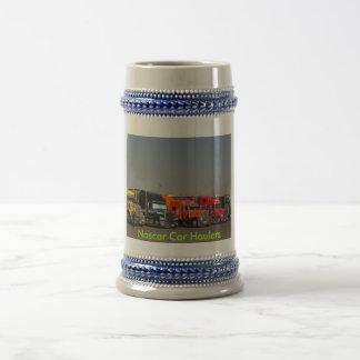 Nascar Car Haulers Coffee Mugs