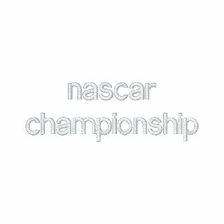 nascar championship hoody
