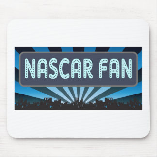 NASCAR Fan Marquee Mouse Pad
