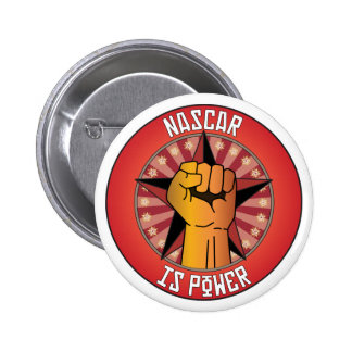 Nascar Is Power Pinback Buttons
