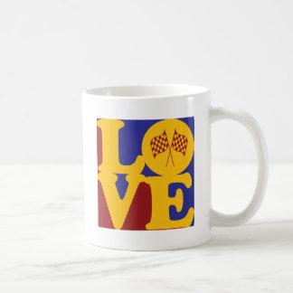 NASCAR Love Coffee Mugs