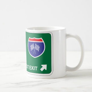 NASCAR Next Exit Coffee Mugs