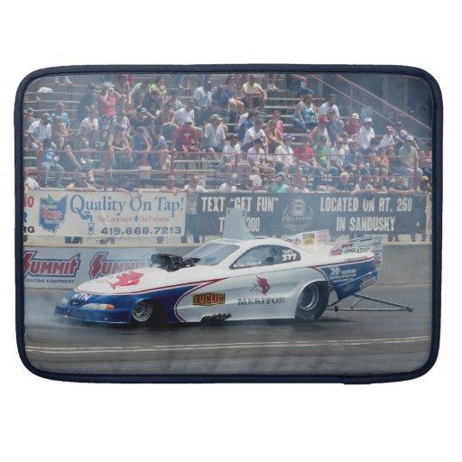 "Nascar Racing Funny Car Macbook Pro 15"" MacBook Pro Sleeve"