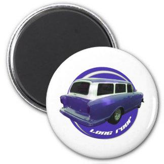 nash long roof blue station wagon fridge magnets