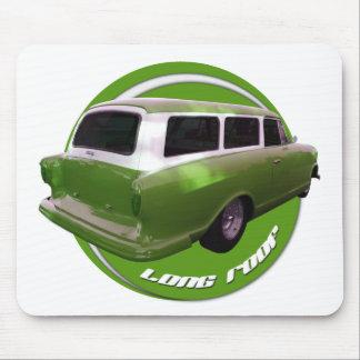 nash long roof green station wagon mousepad