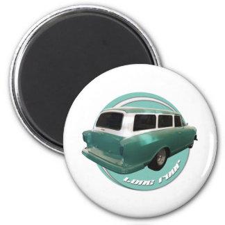 nash long roof seafoam station wagon magnets