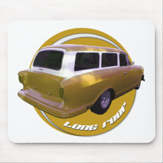nash long roof station wagon golden yellow mouse pad