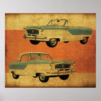Nash Metropolitan hardtop and Convertible Poster