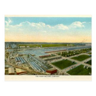 Nash Motor Company Kenosha Wisconsin Postcard