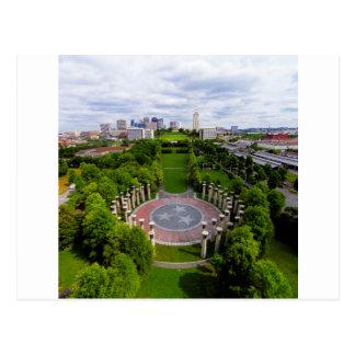 Nashville Aerial photo Postcard
