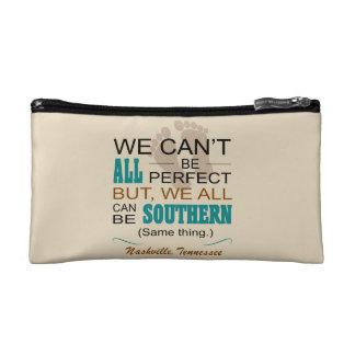 Nashville All Can Be Southern Cosmetic Bag