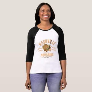 Nashville Aquarius Women's Raglan T-Shirt