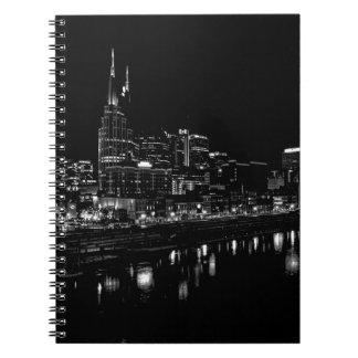 Nashville At Night Notebook